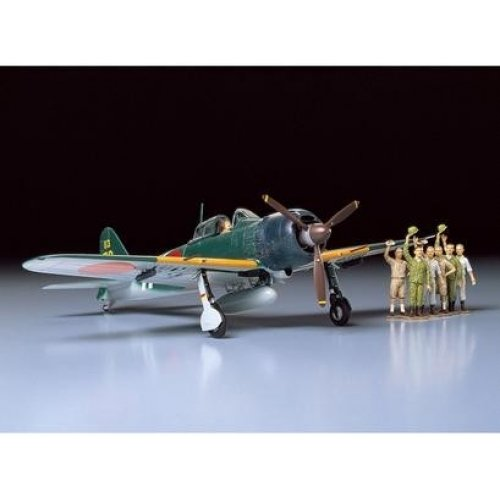 1:48 A6M5c Type 52 Zero Fighter - 7 figures 1:48