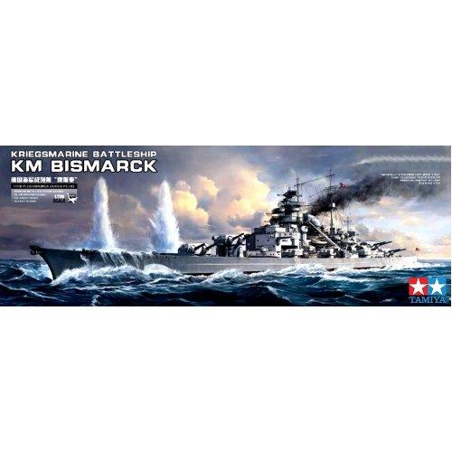 1:350 German Battleship Bismarck 1:350