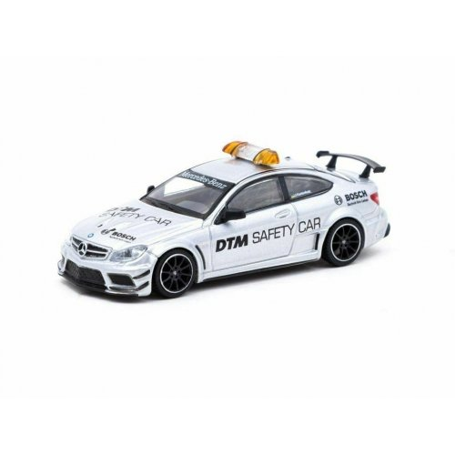 Mercedes Benz C63 AMG Coupe Black Series DTM Safety Car, White 1:64