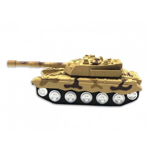 landcorps tank with 1:18 rtr light - yellow