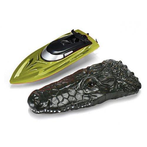 Barca Tpc, Mini Cobra King 1:18 2.4GHz Cu Telecomanda - Galben