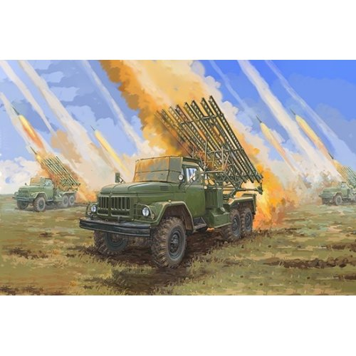 1:35 Soviet 2B7R Multiple Rocket Launcher BM-13 HMM 1:35