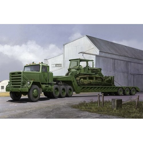 1:35 M920 Tractor towwith M870A1 semitrailer 1:35