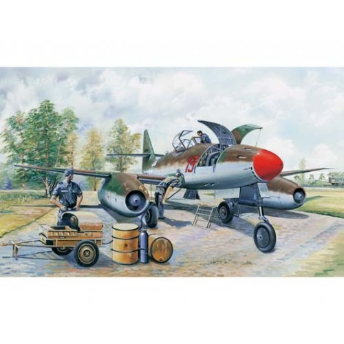 1:32 Messerchmitt Me 262 A-1a clear edition 1:32