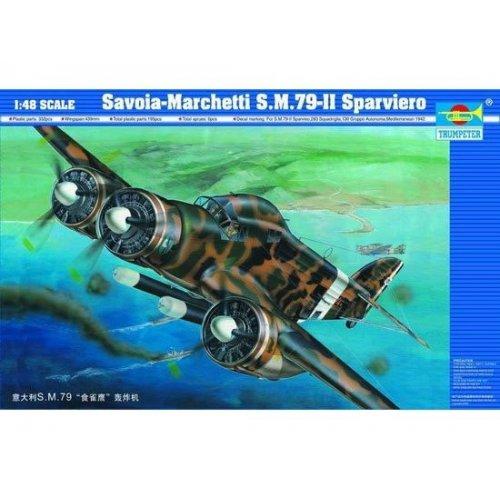 1:48   Aircraft-Savoia Marchetti SM.79-II 1:48