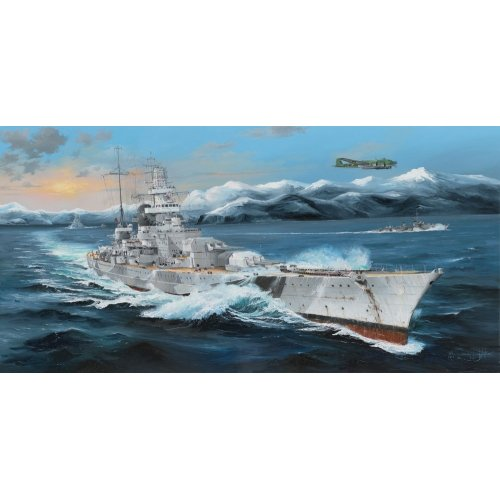 1:200 German Scharnhorst Battleship 1:200