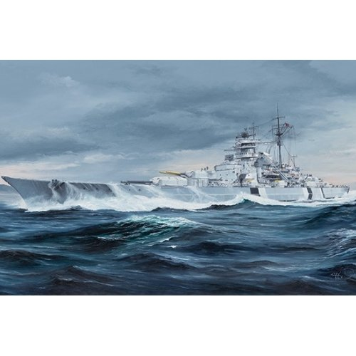 1:350 German Bismarck Battleship 1:350