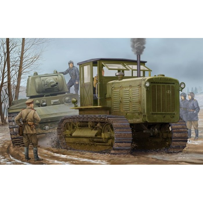 1:35 Russian ChTZ S-65 Tractor with Cab 1:35