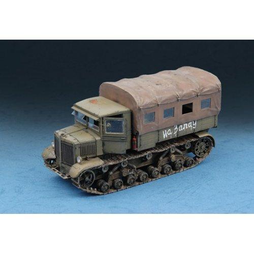 1:72 Soviet Voroshilovets Tractor 1:72