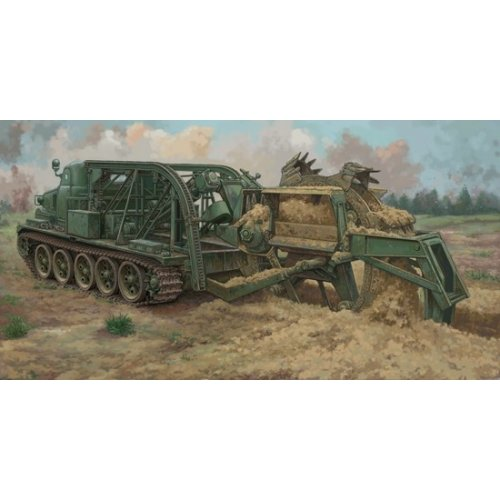 1:35 BTM-3 High-Speed Trench Digging Vehicle 1:35