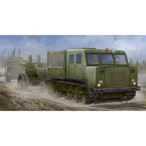 1:35 Russian AT-S Tractor 1:35
