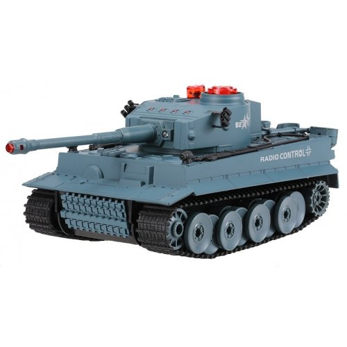 Tanc German Tiger RTR 1:24 cu Telecomanda - Verde