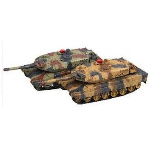 Set de tancuri de luptă RTR cu telecomanda scara 1.16