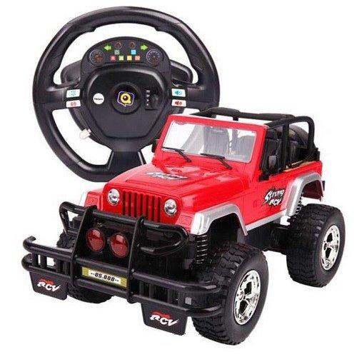 Jeep 1:9.5 40MHz RTR z kierownicÄ… - POSERWISOWY (Uszkodzona elektronika)