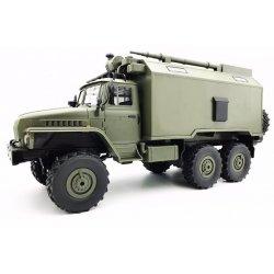 Camion Militar WPL B-36 Scara 1:16, 2.4G, Autonomie 40 de minute - Verde