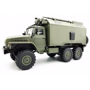 Camion militar WPL B-36 (1:16, 6WD, 2.4G, LiPo, timp de lucru 40 min) - verde