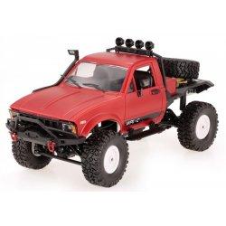 Camion WPL,  C14 1:16 4x4 2.4GHz RTR Cu Telecomanda - Rosu