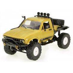 Camion WPL C14 Scara 1:16 4x4 2.4GHz RTR cu Telecomanda - Galben