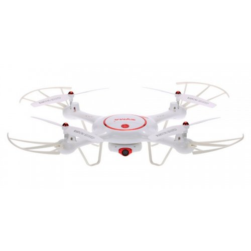 Drona Syma X5UC - cameră de 1MP, 2.4GHz, funcție de hover, domeniu de până la 70m - Alb