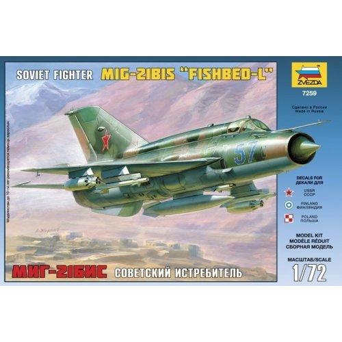 1:72 MiG-21bis Soviet Fighter 1:72