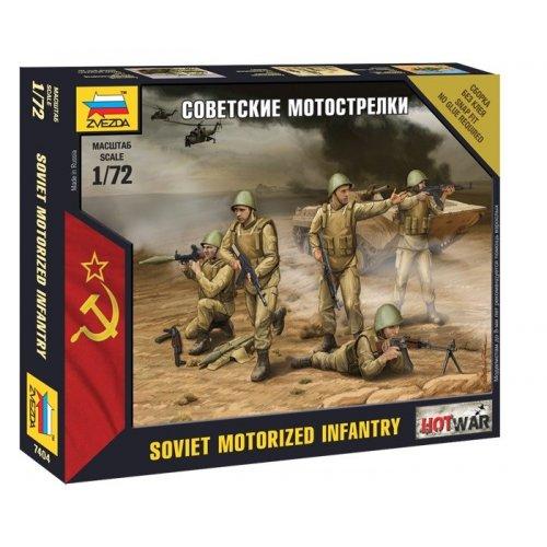 1:72 Soviet Infantry - 5 figures 1:72